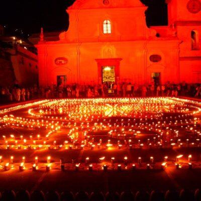 Praiano Cultura Italia Luminaria di San Domenico