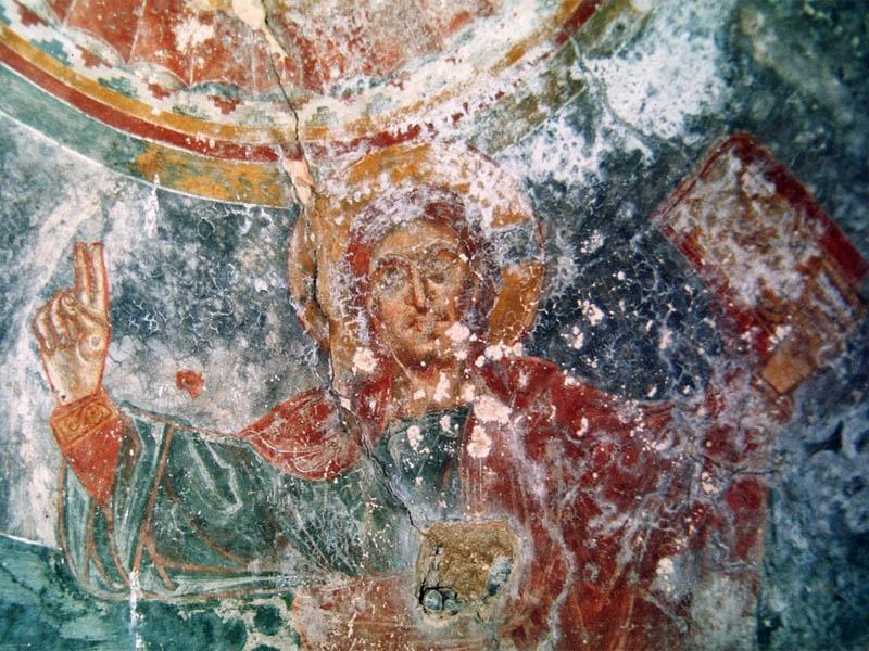 Affresco Madonna della Pomice